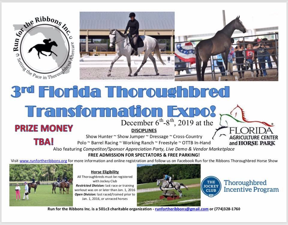 Florida Thoroughbred Transformation Exposition | Run For The